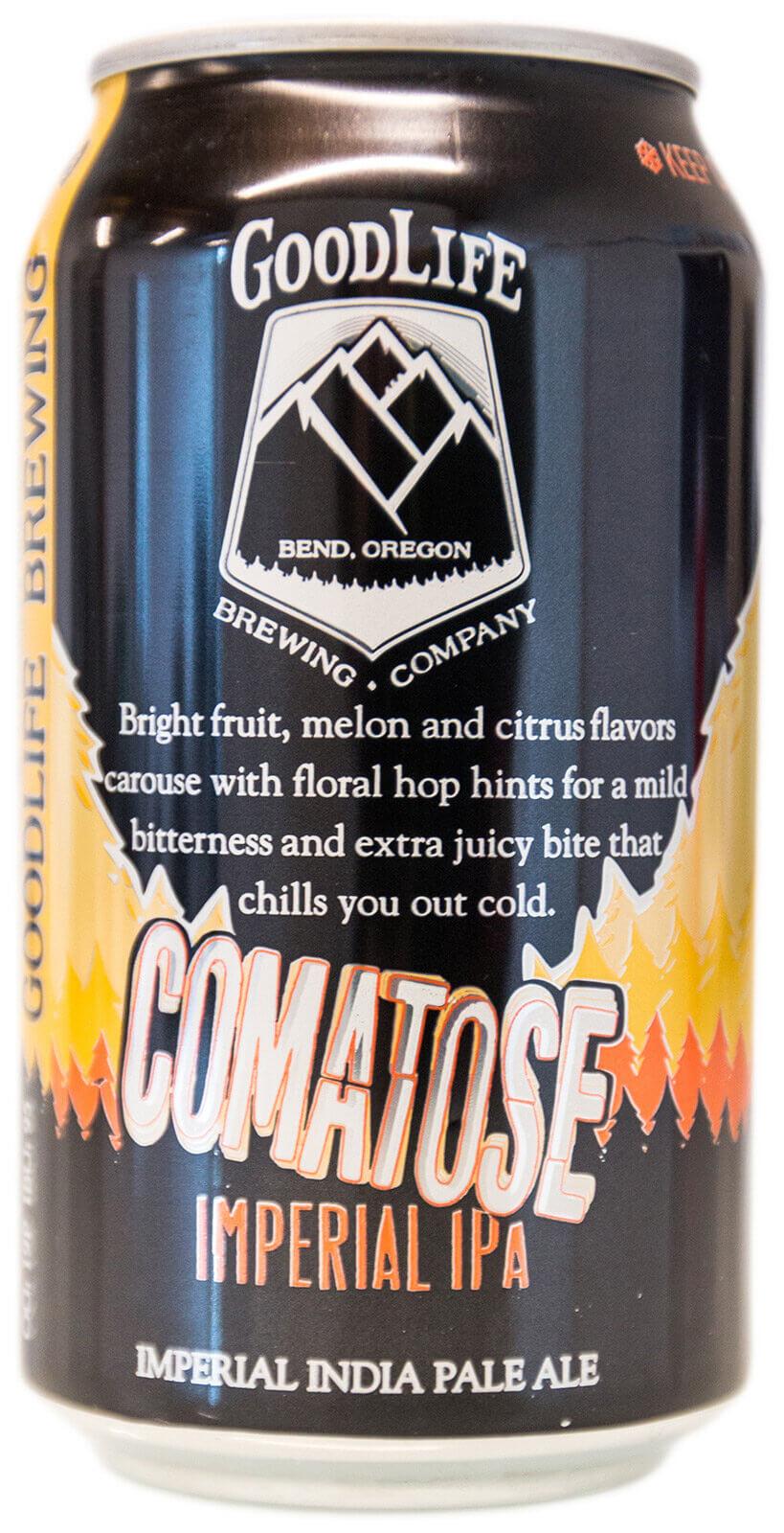 Crowerks designed the Comatose Imperial IPA artwork