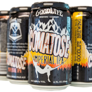 Crowerks designed the Comatose Imperial IPA artwork