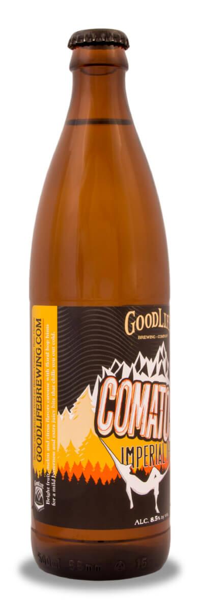 Comatose beer bottle