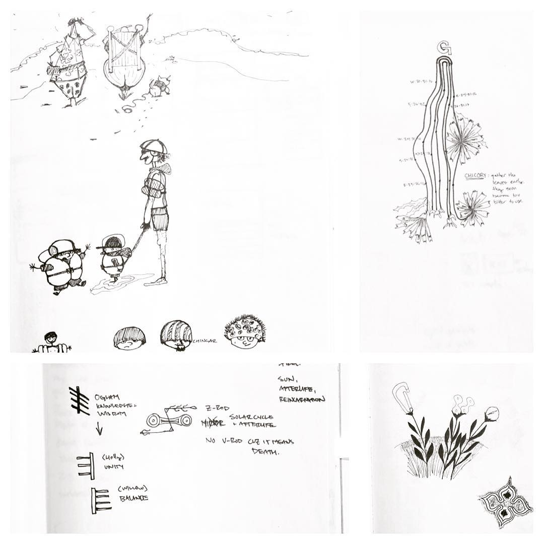 A few more sketches from the archives