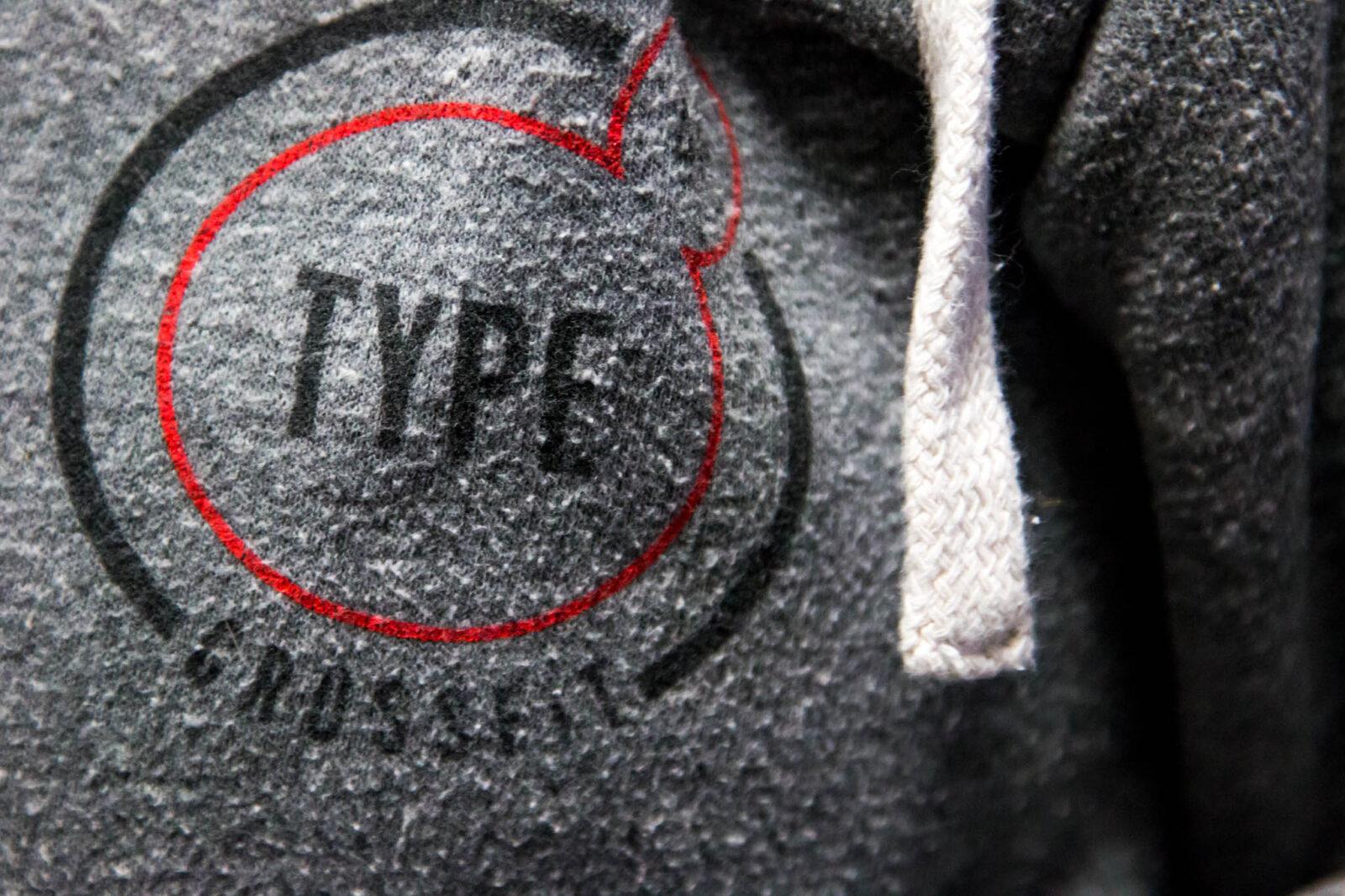 Type44 apparel design in Bend, Oregon