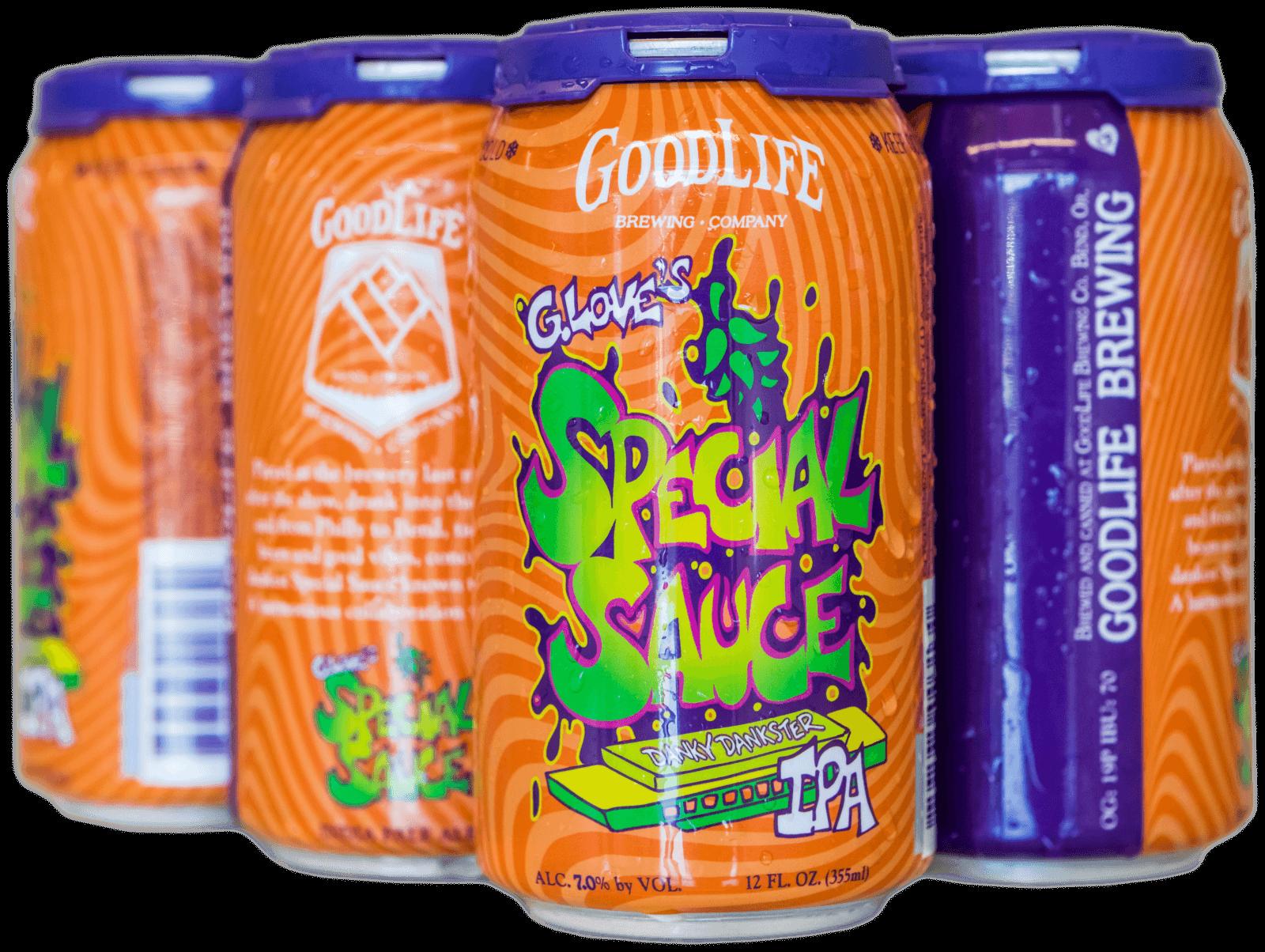 Goodlife beer design by Crowerks