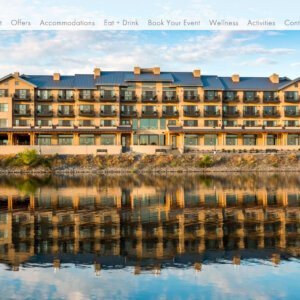 Crowerks is the design agency of record for The Lodge at Columbia Point, an 82 room boutique hotel and Drumheller's Food & Drink in Richland, Washington.