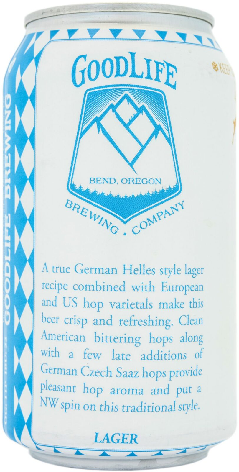 12 ounce Bavarian Lager