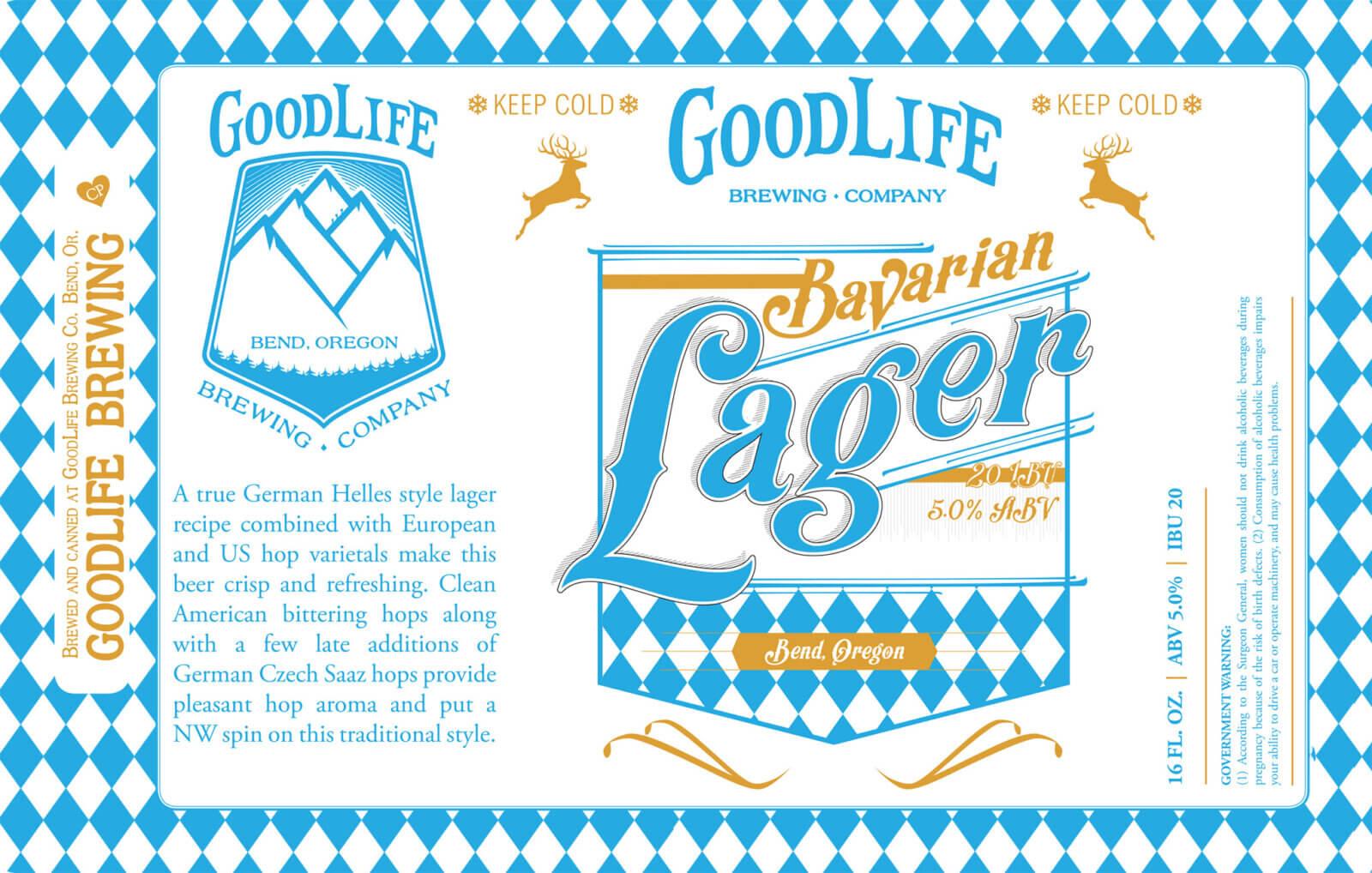 Bavarian lager design by Crowerks