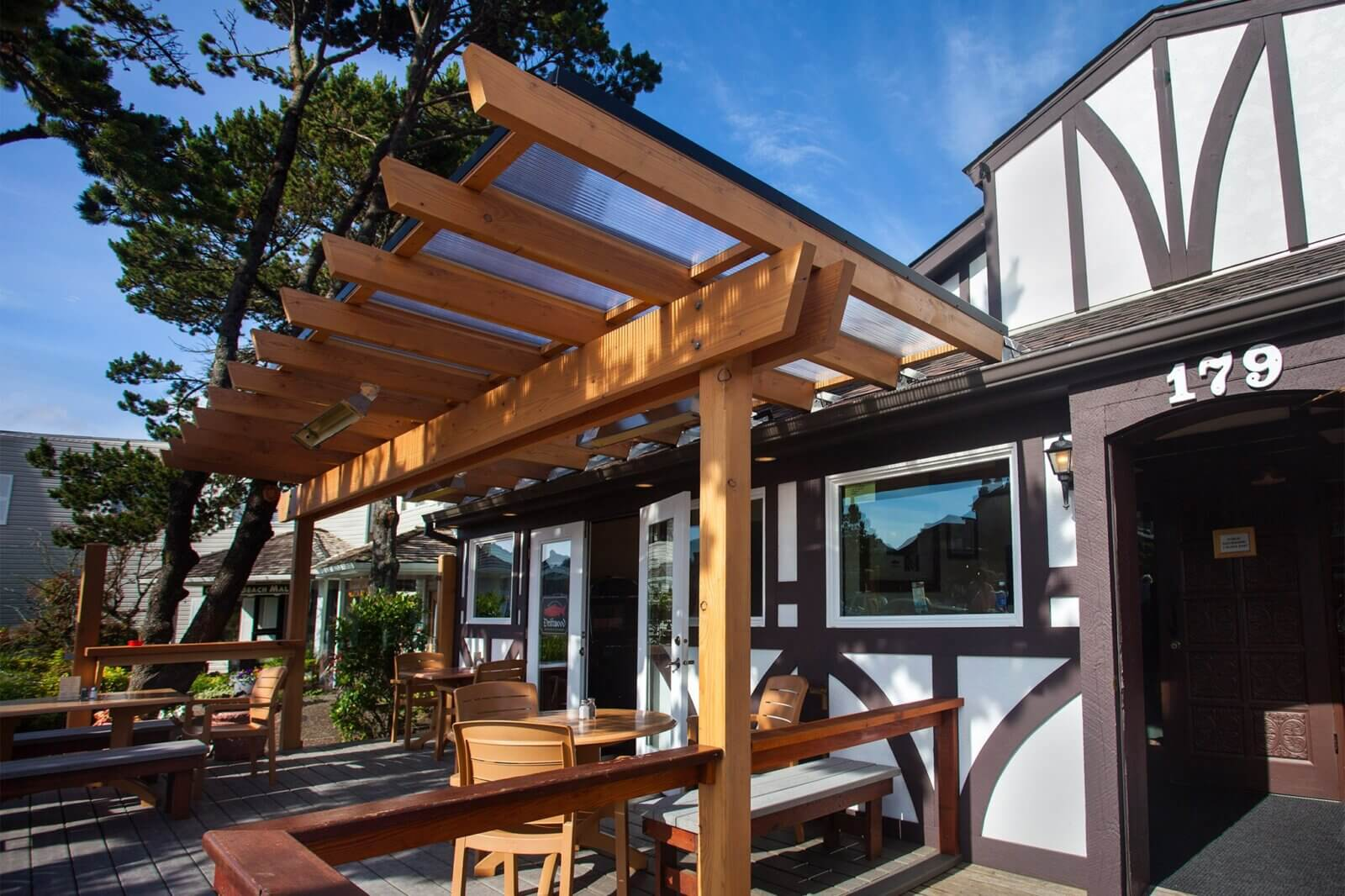 Driftwood restaurant in Cannon Beach, Oregon