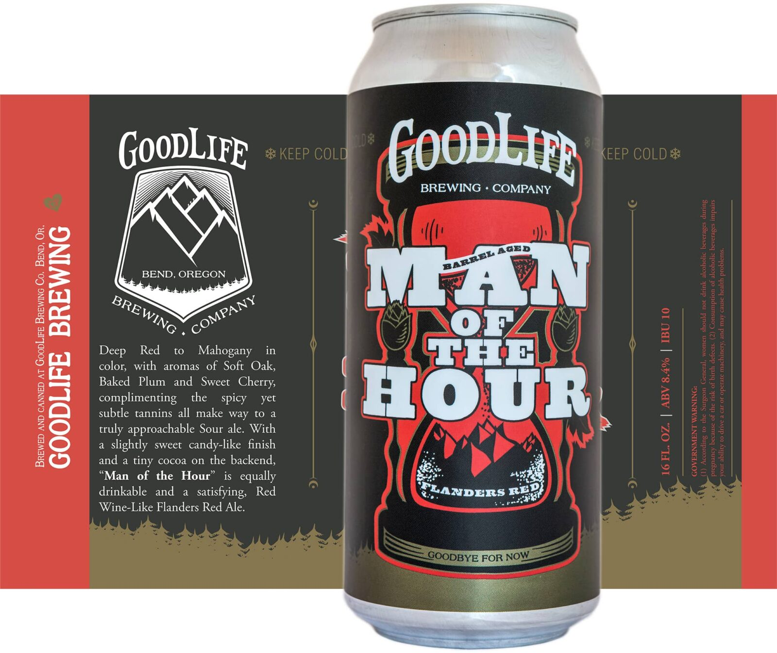 Crowerks designed the can artwork for GoodLife Brewing's