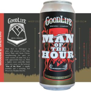 "Crowerks designed the can artwork for GoodLife Brewing's ""Man of the Hour"""
