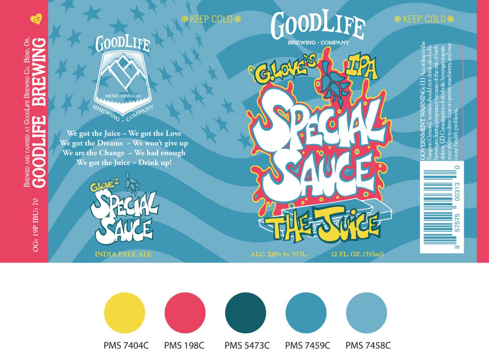 Special sauce beer design