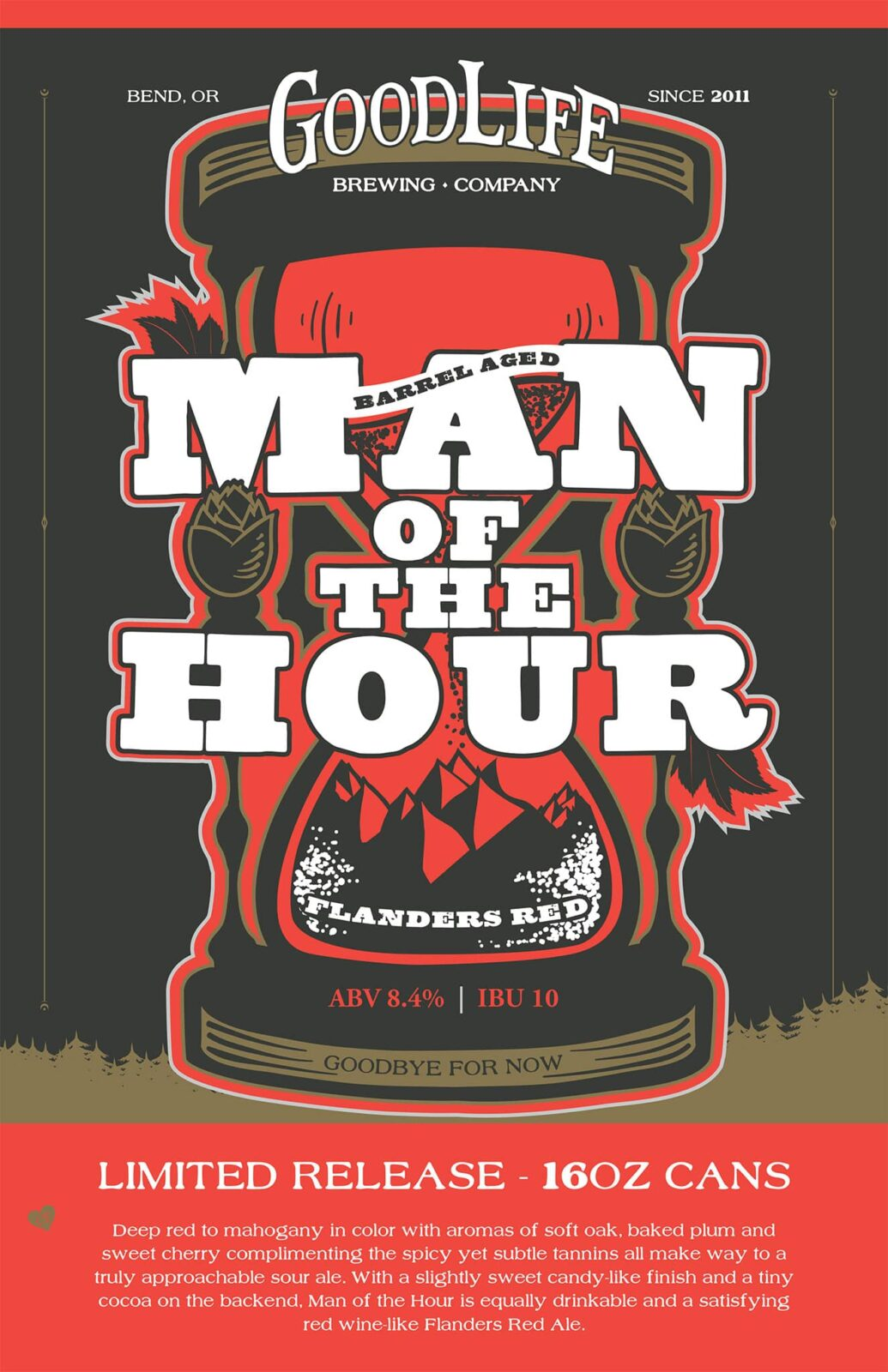 Man of the hour poster artwork