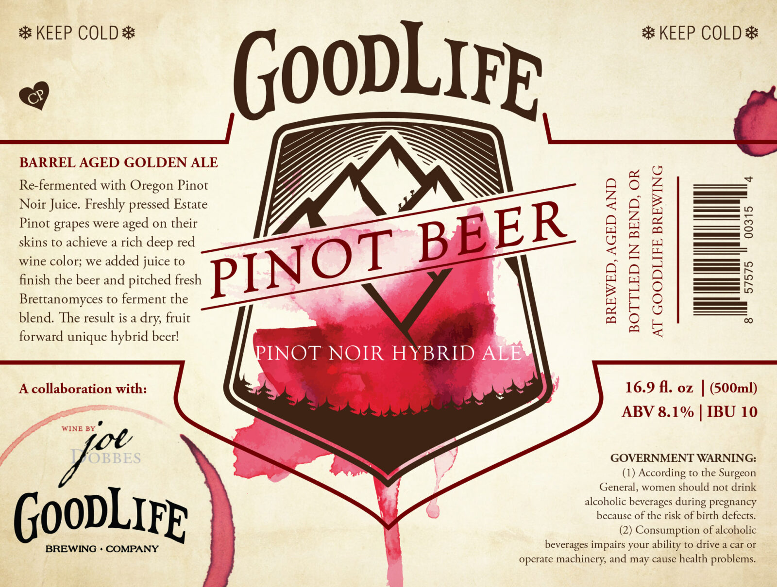 Goodlife Pinot Beer