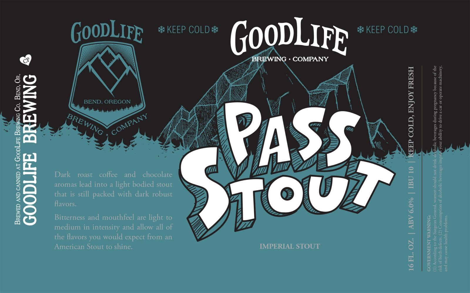 Pass Stout label