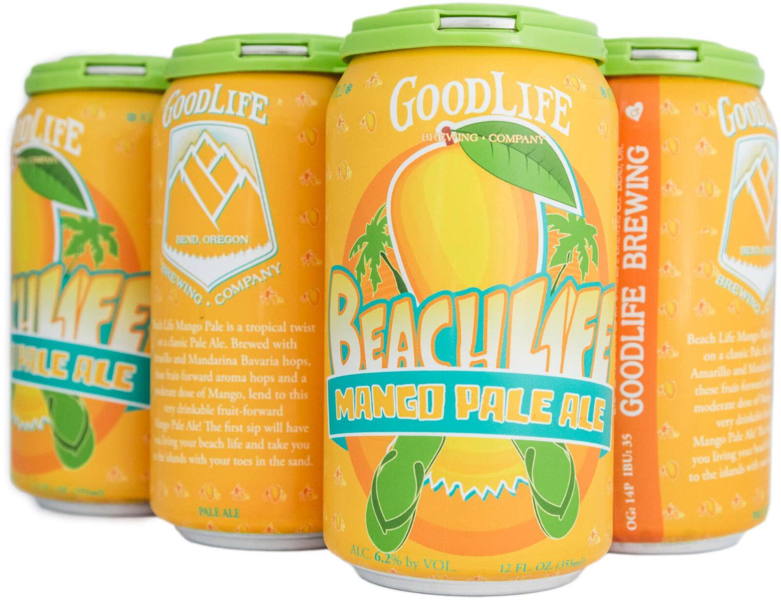 Beach Life Mango Pale Ale six pack